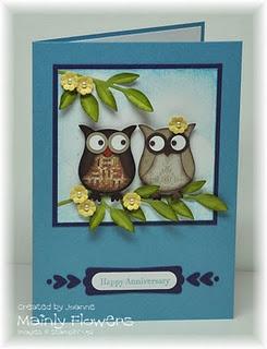 Stampin' Up! - Owl card