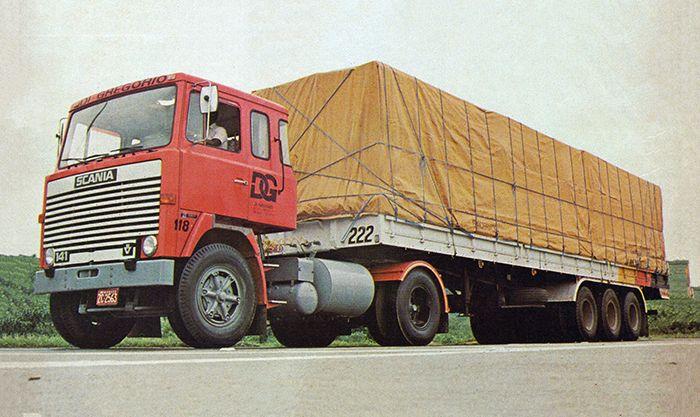Caminhão LK 141, de 1980.