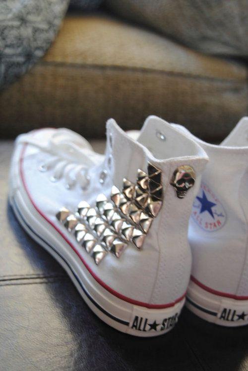 20 DIY Makeover Sneakers Ideas