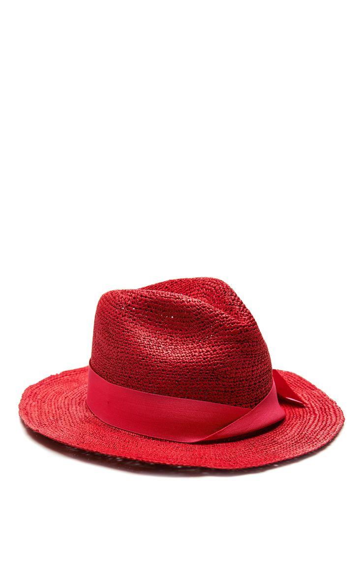 Crochet-Trimmed Classic Panama Hat by Sensi Studio - Moda Operandi