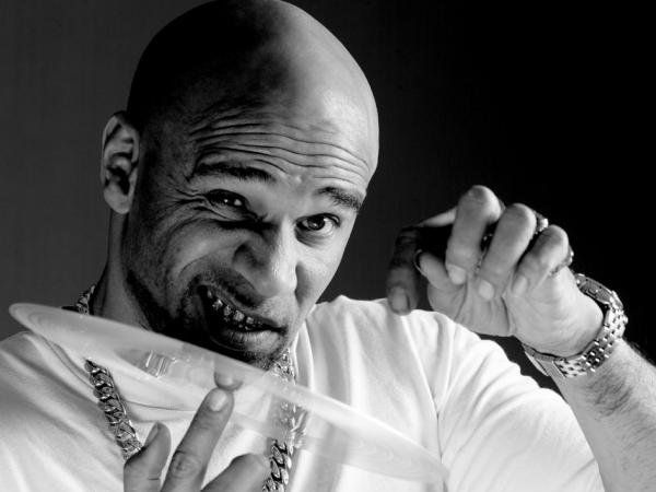 Goldie, founder of Metalheadz. Jungle. drum-and-bass legend.