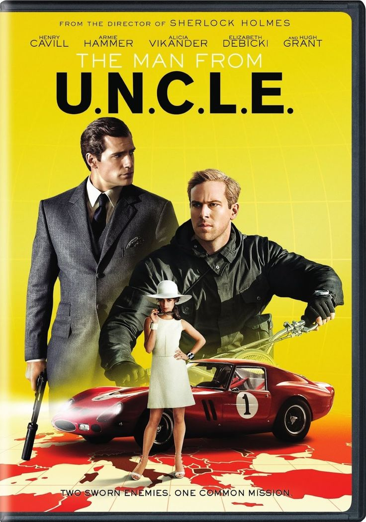 The Man from U.N.C.L.E. DVD Cover