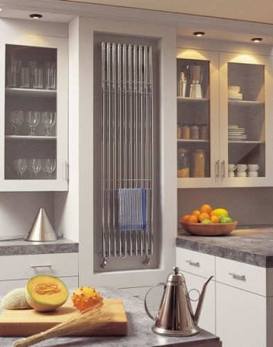 Bisque Kitchen radiator - we love this one!