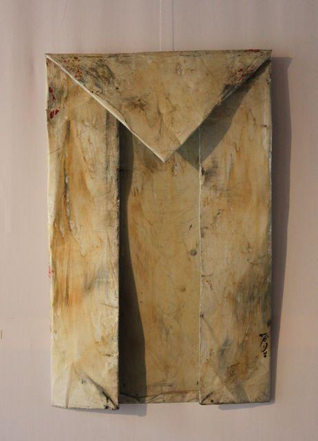 Ayman Yossri Daydban, Flag, 2002Mixed MediaEdge of Arabia: Contemporary Art from Saudi ArabiaVenice, IT  http://www.edgeofarabia.com/artists/ayman-yossri-daydban/