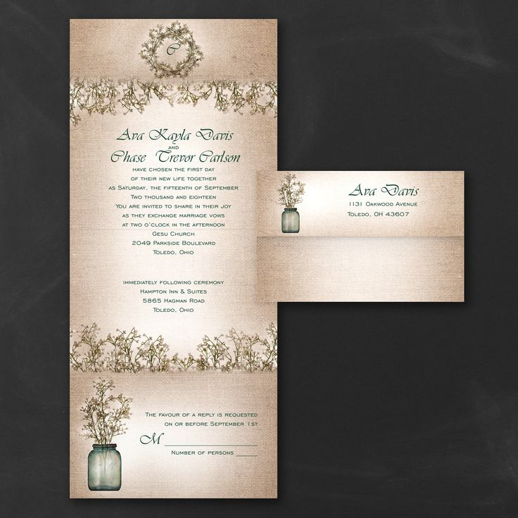blank wedding invitations%0A Sweet Rustic  Seal  u    n Send Invitation  u   e Wedding Invitations   Uniquely You  Invitations