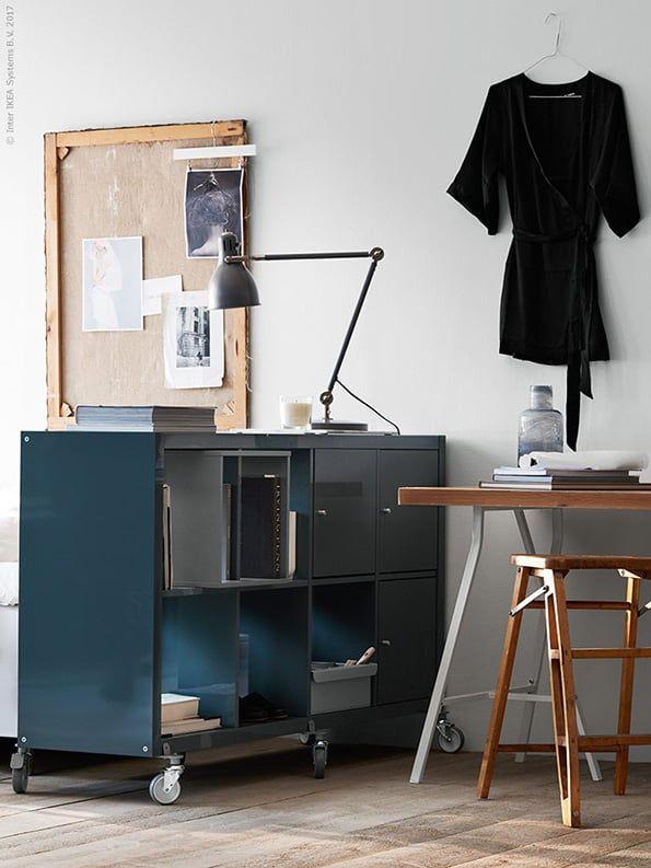 Industriele Kast Op Wieltjes Homestyle Bedroom Workspace