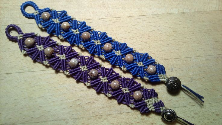 macramé bracelets