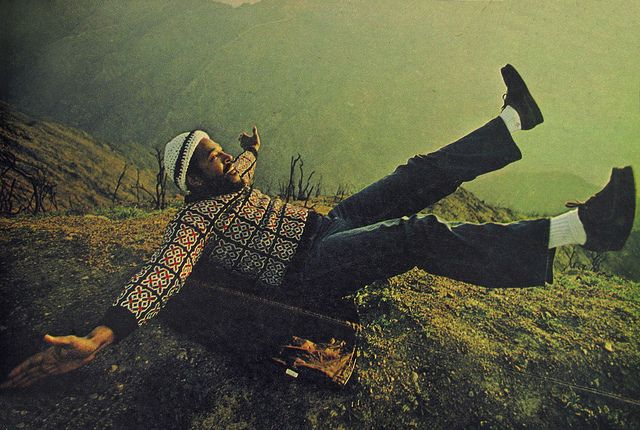 Marvin Gaye by Annie Liebovitz for Rolling Stone in 1976.
