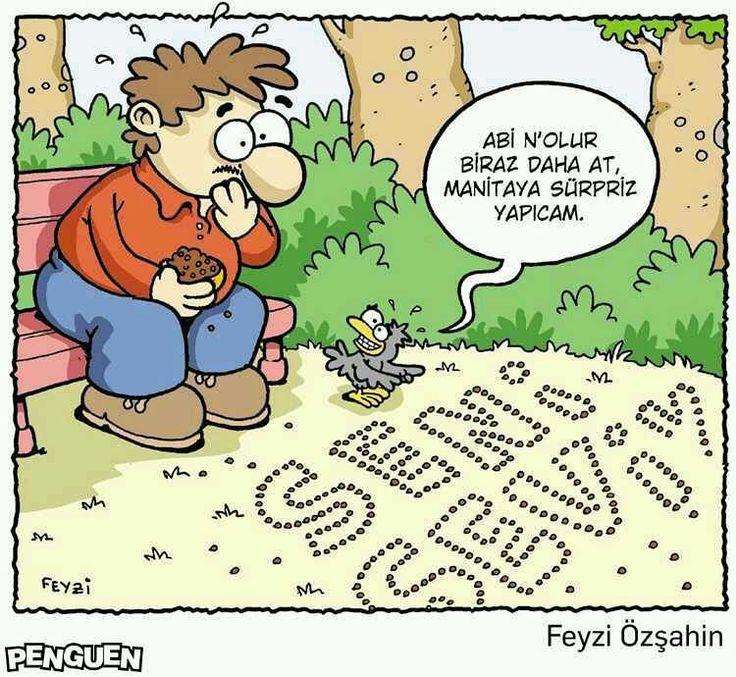 Abi n'olur biraz daha at, manitaya süpriz yapıcam.  #karikatür #mizah #matrak #komik #espri #şaka #gırgır #komiksözler