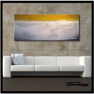 Modern-Abstract-Canvas-Wall-Art-Painting-Limited-Edition-GicleeSTRATEGY60x24x15-Ready-to-Hang-US-artistELOISExxx-0
