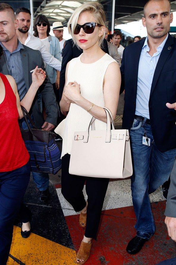 Sienna Miller arriving for the 2015 Cannes International Film Festival, May 2015.