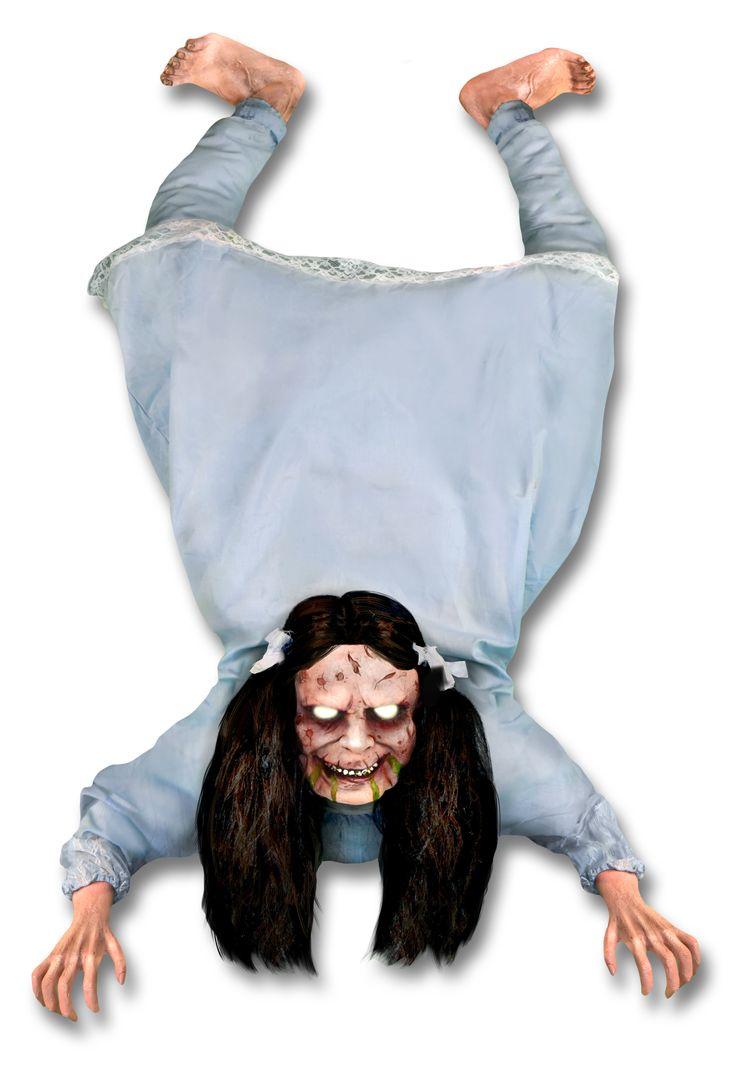 "49"" Possessed Wall Hanger Animated Halloween Prop"