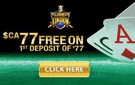 Casino Kingdom Deposit Bonus