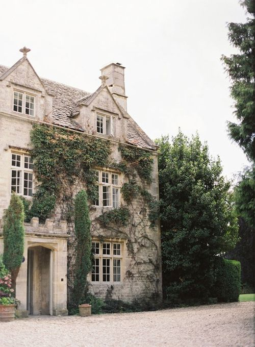 beautiful stone house manor
