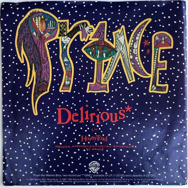 Prince Delirious 7 Single Pos For Sale Discogs Vinyl Calendar Pictures Vinyl Records