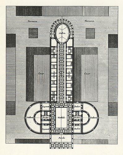 house of pleasure    design by Claude-Nicolas Ledoux