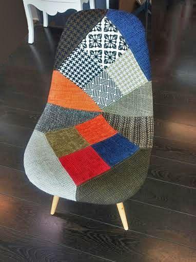 El #patchwork supera el mundo manta/edredón para llegar a tu armario, a tus pies y a tus muebles. Adriana Lima es la estrella de esta tendencia para Desigual y nosotros hemos encontrado la nuestra propia. #muebles #diseño #decoración #celebrities
