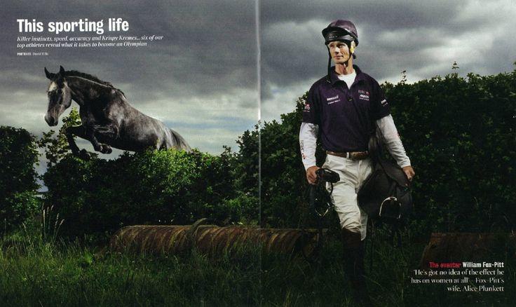 Musto eventer William Fox-Pitt in the Times