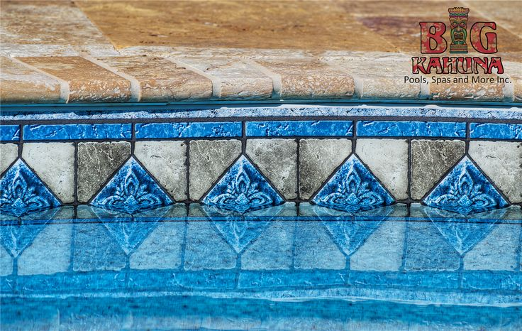 Water Line Pool Tile Waterline Tile With Travertine