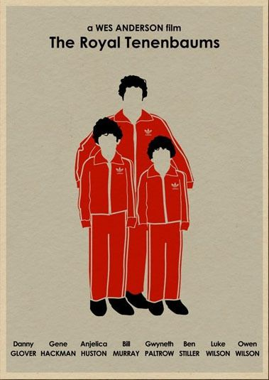 The Royal Tenenbaums movie poster revisited