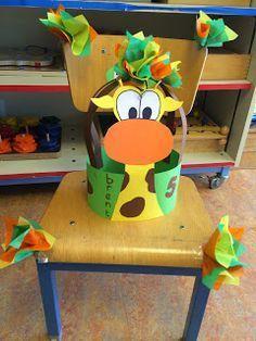 verjaardagskroon kleuters giraf - Google zoeken