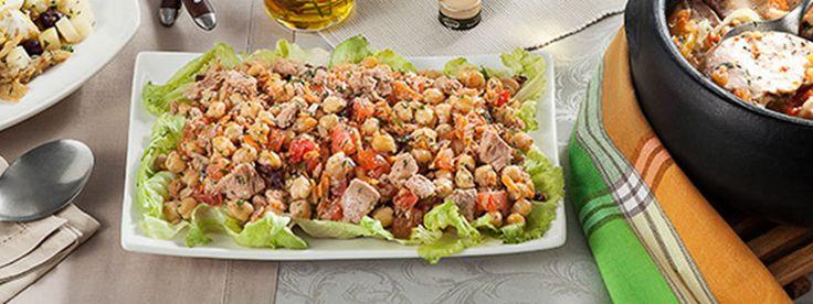Salada de Atum com Grão de bico - Chef Carrefour | Carrefour