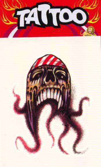 Piraten Tattoo Oktopus #Pirate #PirateTattoo #Oktopus #OktopusTattoo