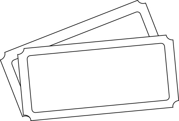 Admit One Oversized Ticket Template Raffle Ticket Template For