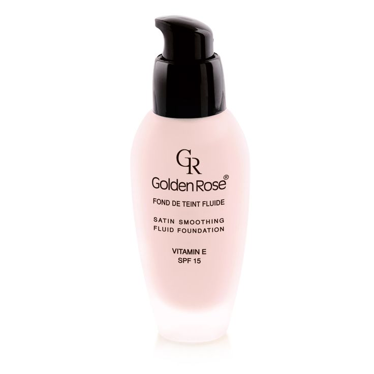 Golden Rose > FACE > FOUNDATION > Satin Smoothing Fluid Foundation (SPF15)