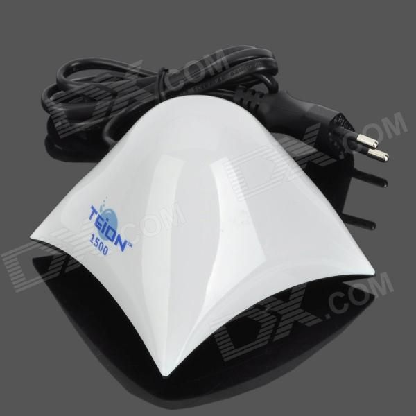 16e TEION 1500 76L Super Quiet Aquarium Oxygenated Air Pump for Fish - White + Black + Blue (EU Plug)
