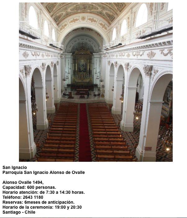 Iglesia San Ignacio Alonso Ovalle 1494 Santiago