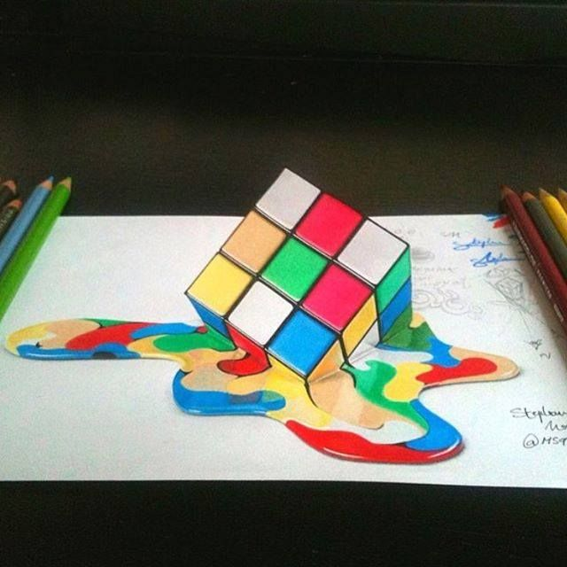 3d drawing by ms91art http://webneel.com/3d-drawings-pencil-art | Design Inspiration http://webneel.com | Follow us www.pinterest.com/webneel