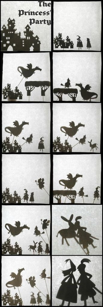 Need to try this: shadow puppet theatre.
