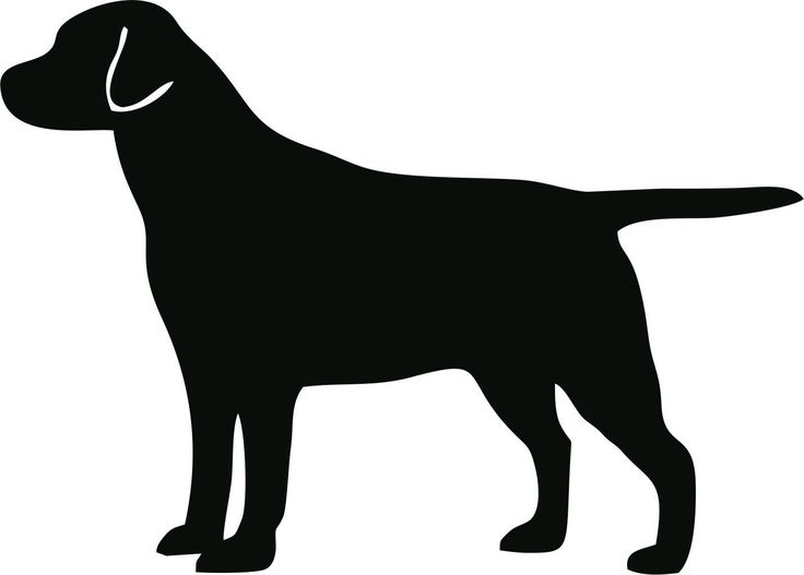"[silhouette to make button art!] Labrador Retriever Dog Breed Silhouette Custom Vinyl Decal Sticker - 4"" x 2.87"" - 28 Color Options - FREE Combined Shipping. $3.00, via Etsy."