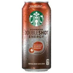 Starbucks DoubleShot Energy Hazelnut - 16 oz (12 Pack)