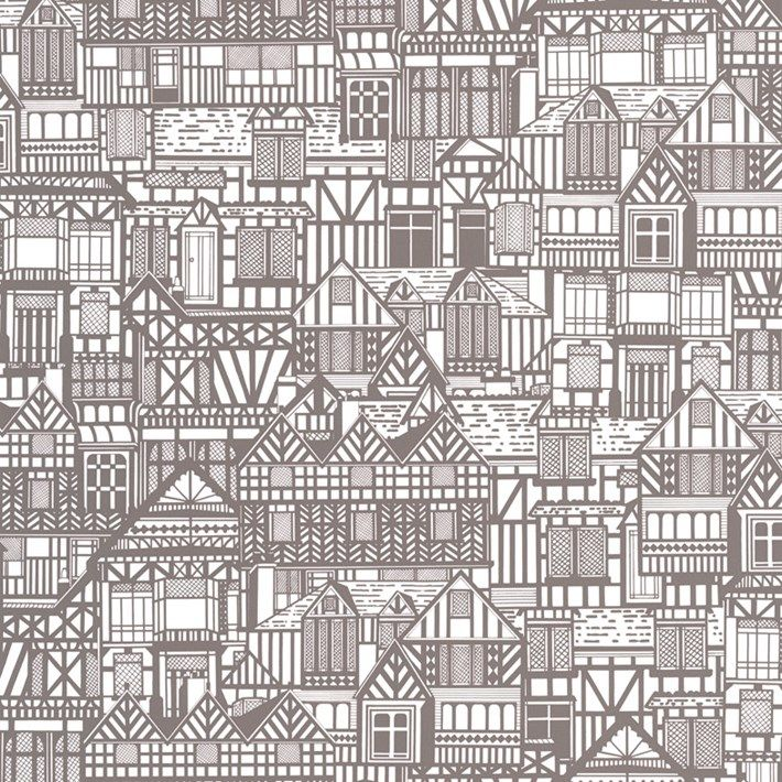 Tudor Houses | Graham and Brown Wallpaper