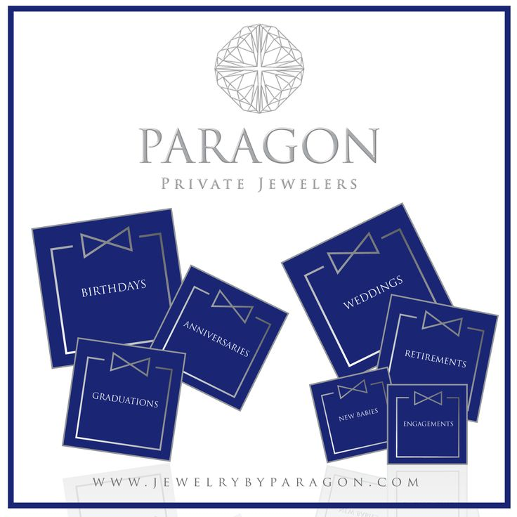 Buying jewelry is a big investment both financially and, in some cases, emotionally. There are so many things we honor with jewelry: engagements, weddings, anniversaries, birthdays, new babies, graduations, and retirements – Let Paragon be your go to for that special gift.