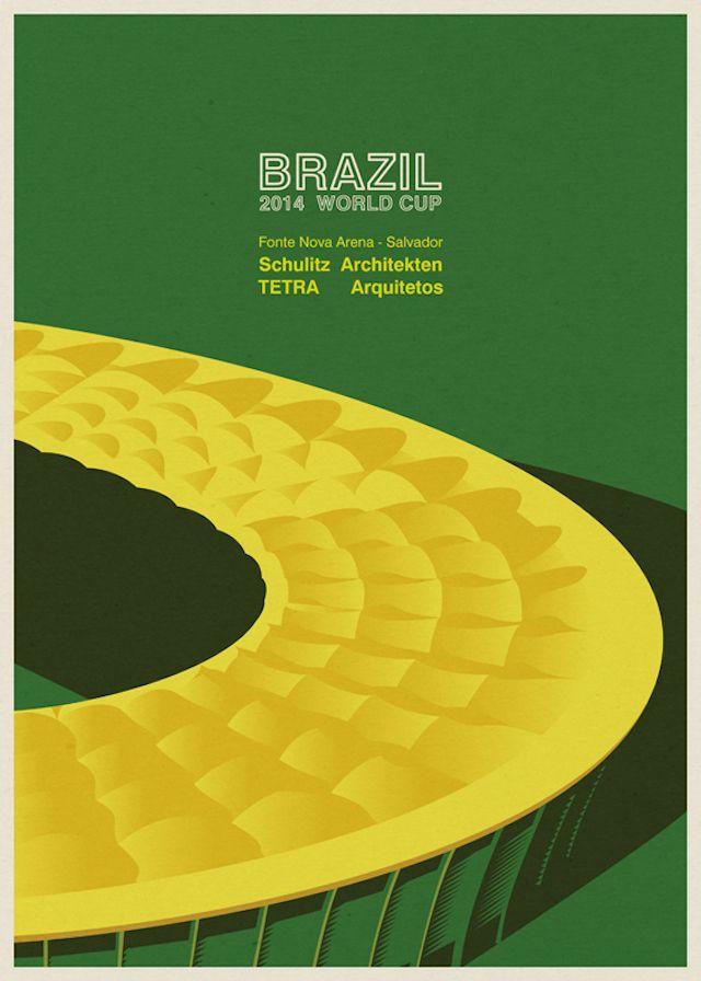 stade brésil coupe du monde