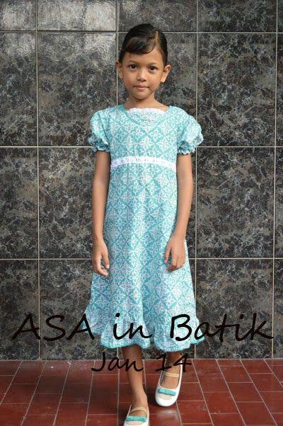 Asa in Batik dress