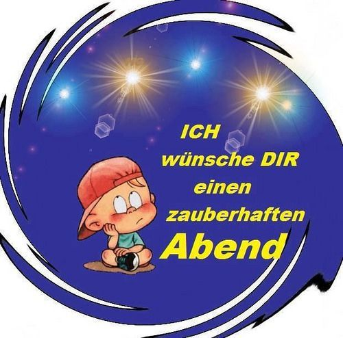 Good Morning Too In German : Best images about guten abend good night on
