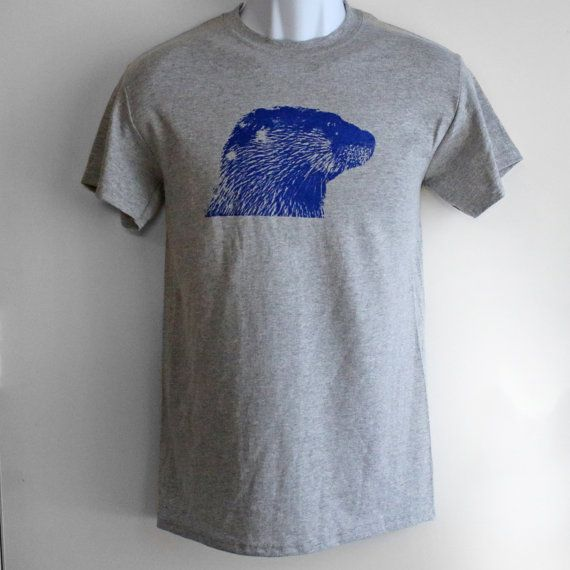 CLEARANCE! Otter Tee, River Otter Shirt, Unisex Mens Womens Apparel, Ryer