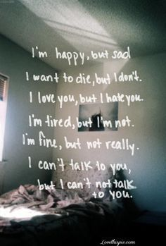 mixed emotions life quotes quotes broken hearted depressive photography quote dark bedroom emo sad broke - Separating can be tough to take... but a new love will enter your future soon as soon as you ... http://www.psychicinstantmessaging.co.uk/pimpin4