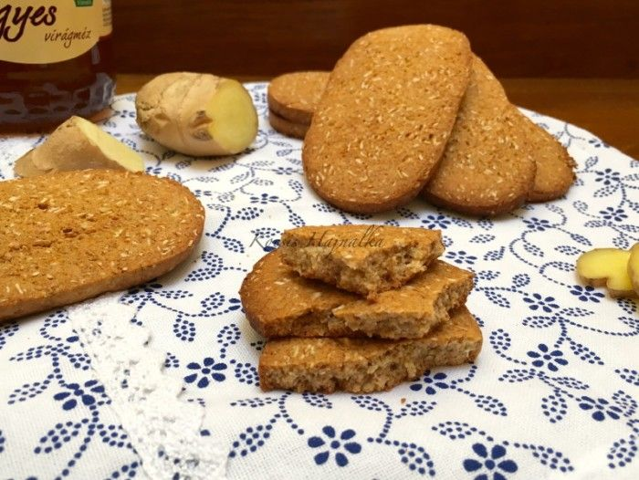 Jó Reggelt keksz házilag, gyömbéres | mókuslekvár.hu