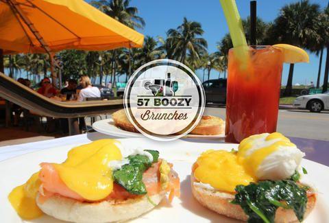 57 boozy brunches Thrillist Miami