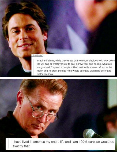 "Tumblr Comments Added To ""The West Wing"" Are Weirdly Perfect // Actually, it's not weird that they're perfect at all."