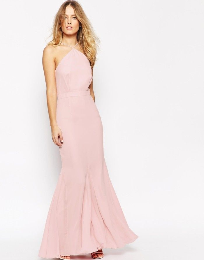 What to wear to an april wedding pink gowns maxi for Maxi dress for a wedding
