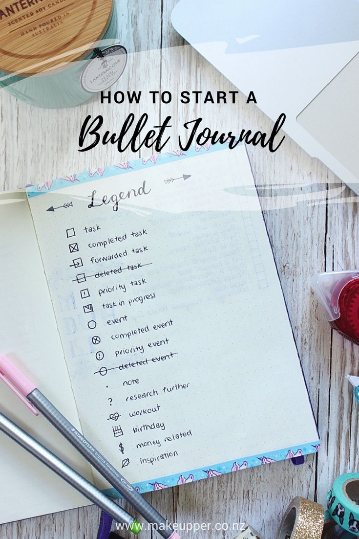 Bullet Journal 101 - How To Start A Bullet Journal! It's so ridiculously simple to get started, click to find out more...