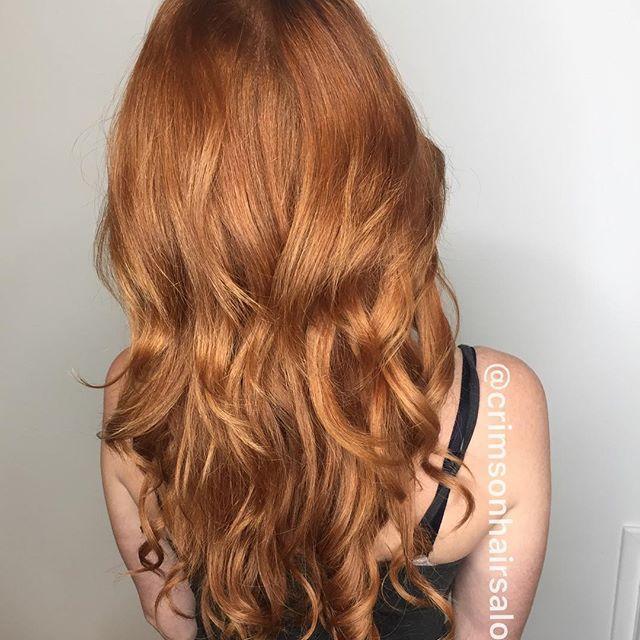 Ginger Ninja   #hotheads #extensions #copper #kelowna #hairextensions #ginger #longhairdontcare #mermaid #magic   Hair @hair.by.amandajess