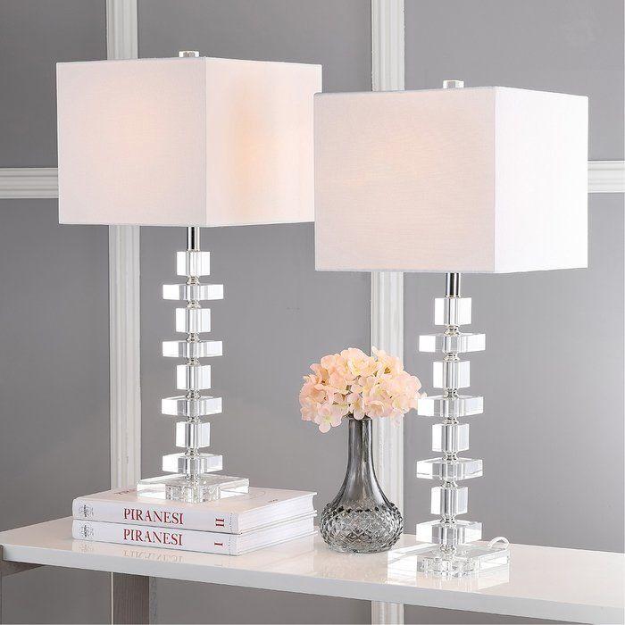 Maariyah 28 Table Lamp Set Crystal Table Lamps Table Lamp Table Lamp Sets