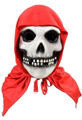 Trick Or Treat Misfits The Fiend Red Hood Music Halloween Costume Mask TTCM100